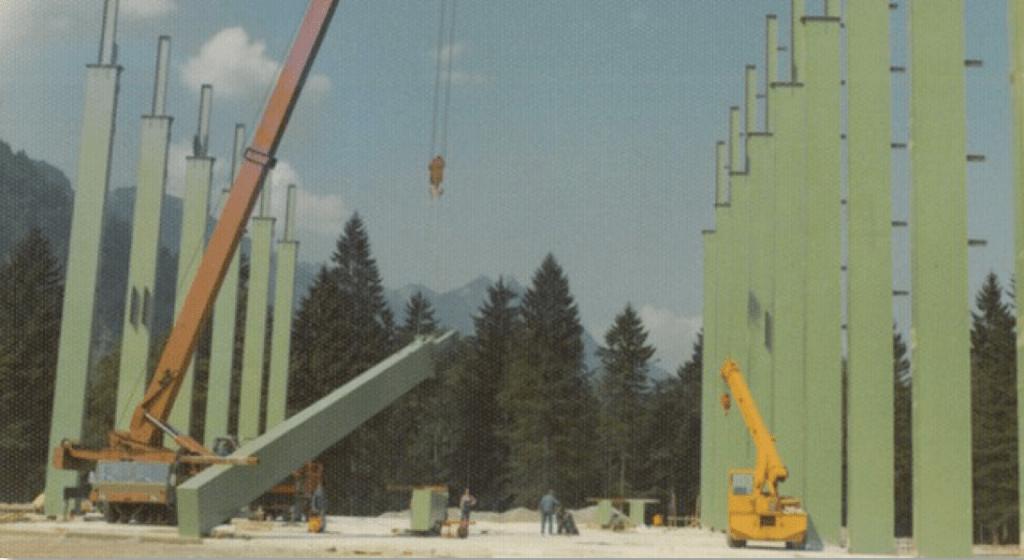 Neubau Liebherr Werk Nenzing