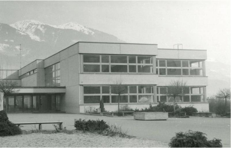 Bau der Zentrale Josef Bertsch