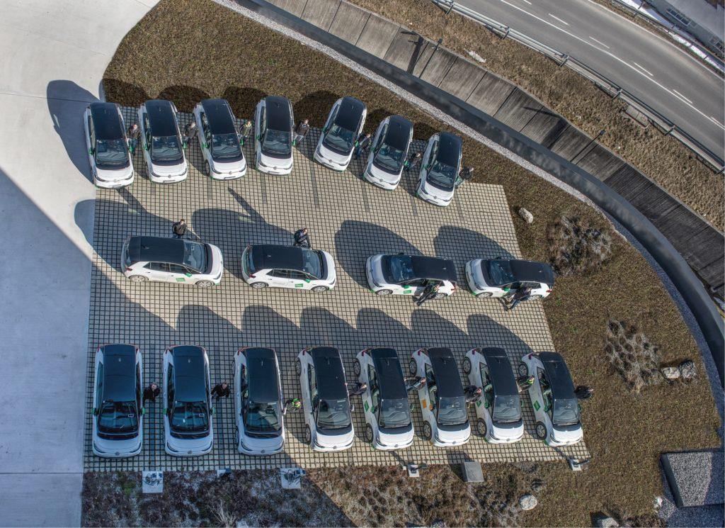 Erweiterung größte private e-Flotte Vorarlbergs